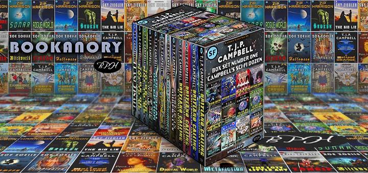 3D 12 SCi Fi tjpcampbell Boxset